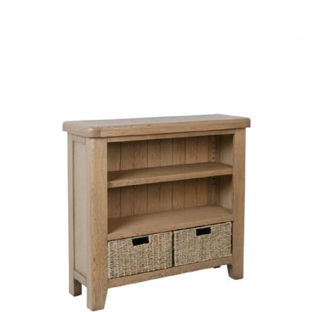 Henley Oak Small Bookcase